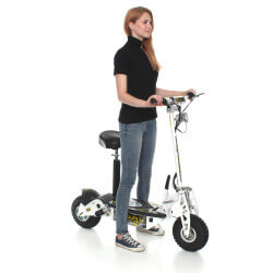 Trottinette Electrique SXT1000 Turbo Blanche Batterie plomb