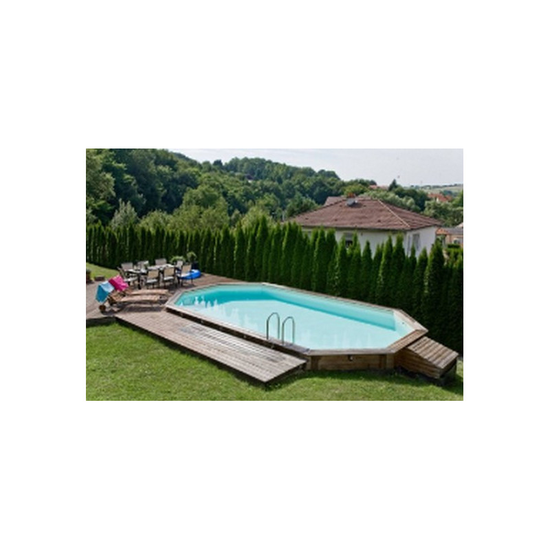 piscine en bois hors sol enterrable sacha loisir plein air. Black Bedroom Furniture Sets. Home Design Ideas